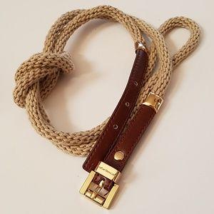 Michael Kors rope belt